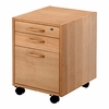 Conset Three Drawer Mobile Pedestal