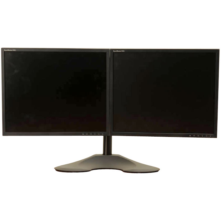 Ergotech Lcd Stand For A Dual Monitor 100 D16 B02