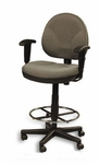 Eurotech Drafting Stool w/ Footring- OSS400