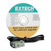 Extech 407752 Windows Software & RS-232 Cable