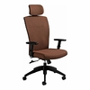 Global Alero Ergonomic Chair with Upholstered Back