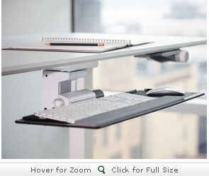 Humanscale Float Keyboard Tray Shop Humanscale Keyboard