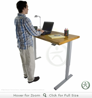 Humanscale Float Table - Solid Wood Top