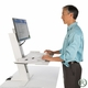 Humanscale QuickStand Height Adjustable Workstation - Single Monitor