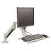 Innovative 7509 LCD Data Entry Arm with Flip-Up Keyboard Tray