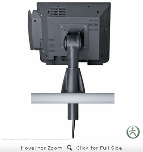 Innovative 9189 Adjustable POS Through-Counter Mount