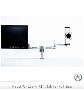 Integ Blade Dual Monitor Arm