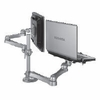 ISE Dual Monitor Laptop Mount - Long Arms