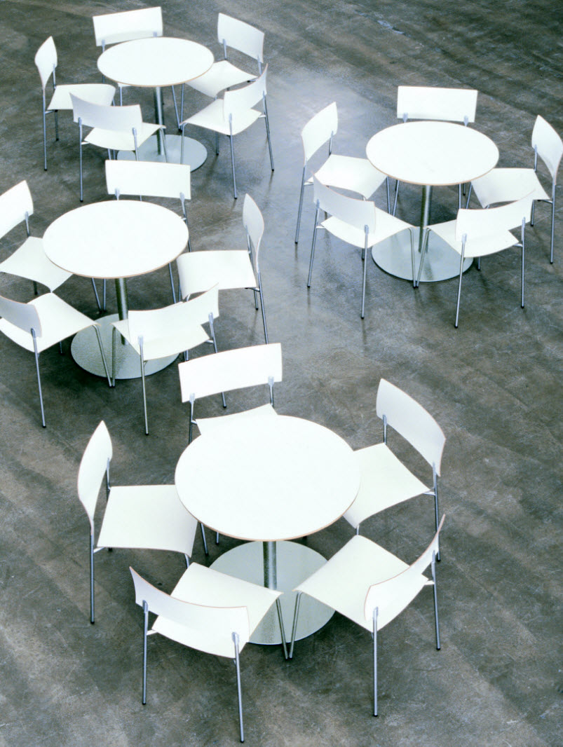 Knoll Arena Bar Height Round Cafe Table Shop Knoll Arena