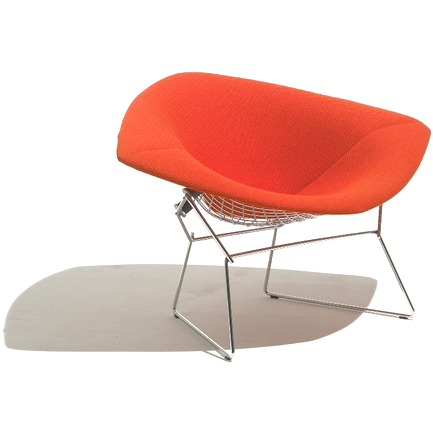 Knoll chairs knoll bertoia large diamond lounge chair with full cover