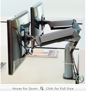 Knoll Dual Sapper XYZ Monitor Arm