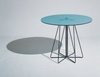 Knoll Paperclip Small Round Cafe Table