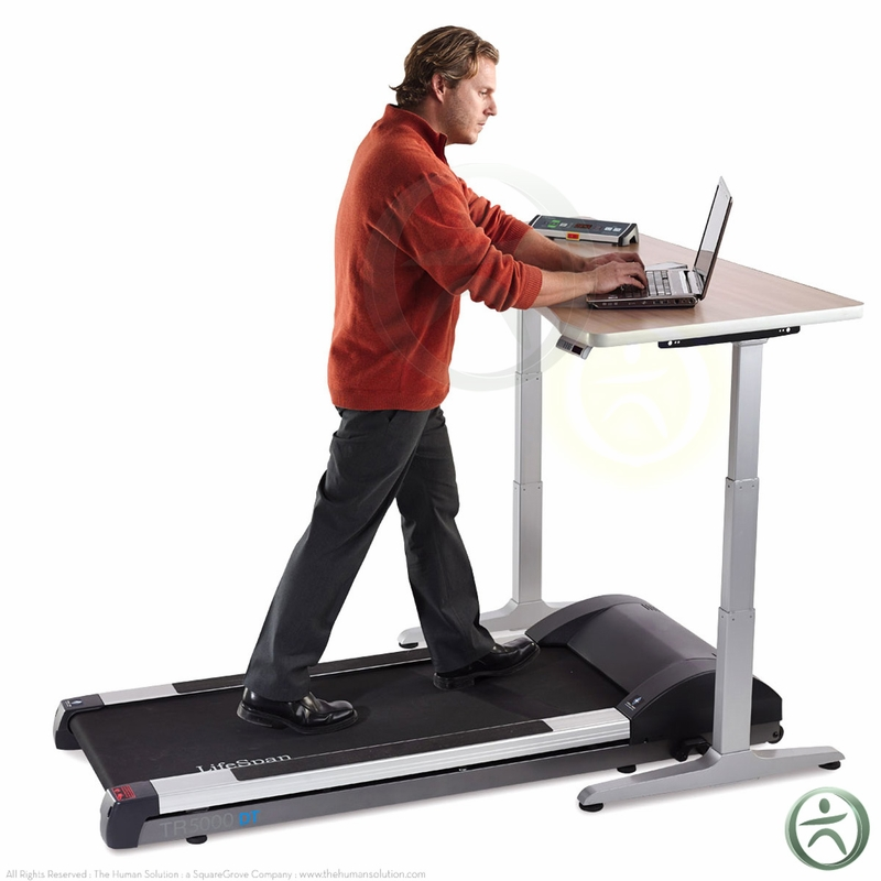 Treadmill For Desk At Work: Shop LifeSpan TR5000-DT3 Standing Desk Treadmills