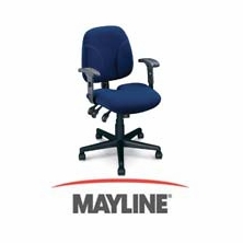 Mayline Comfort Series and Big and Tall Series Chairs
