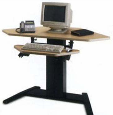 Mayline VariTask E Series Electric Height Adjustable Desk