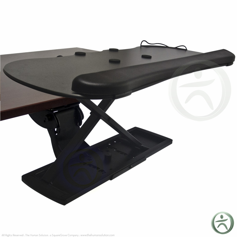 Neutral Posture Standup Convert Your Keyboard Tray To A