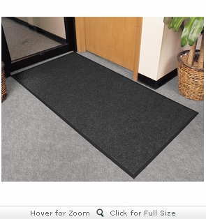 Notrax 136 Polynib Entrance Carpet Mat - 4' Wide by Linear Foot