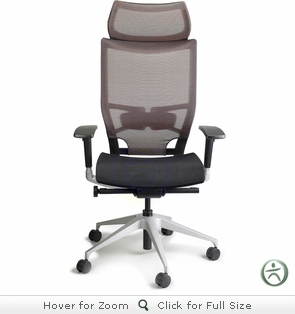 Raynor Nuvo Mesh Chair With Headrest