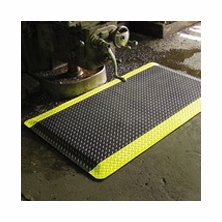 Rhino Diamond Plate Knob Back Heavy Duty Anti-Fatigue Mat - 3/4'' Thick