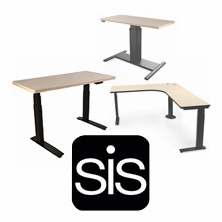 SIS Adjustable Height Desks
