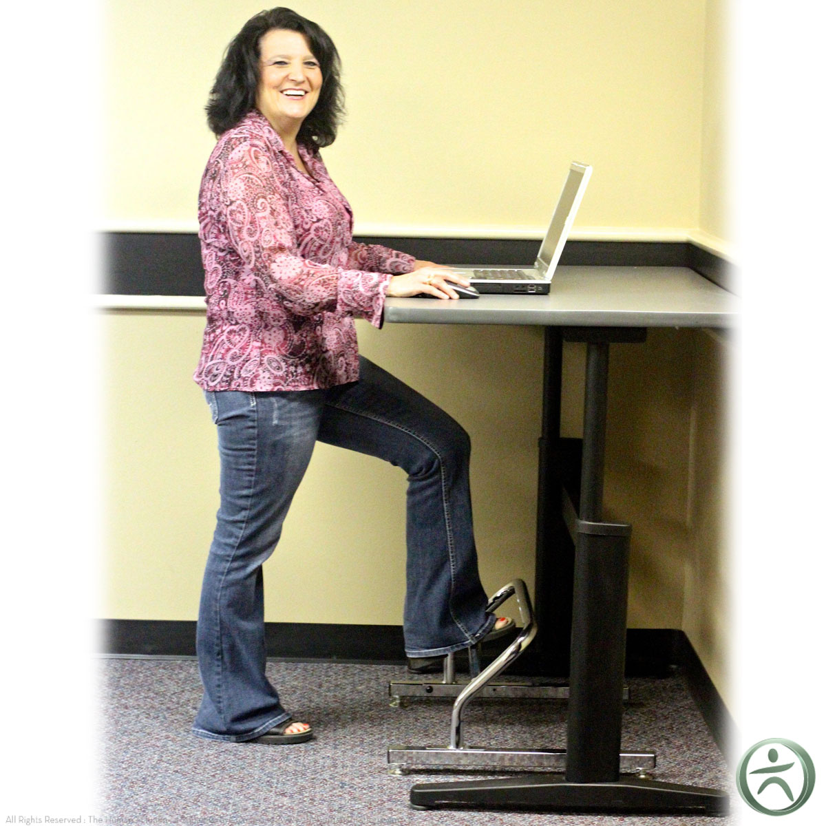 Standing Desk Foot Rest