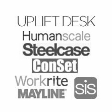 Standing Desks by Manufacturer