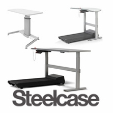 Steelcase Adjustable Height Desks