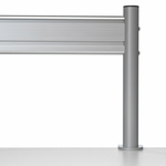 Steelcase Details SlatRail with Stanchions B-WSR