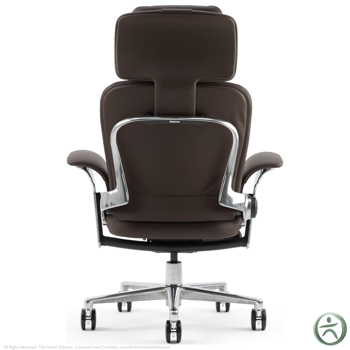 Steelcase Leap Worklounge In Leather