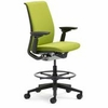 Steelcase Think Drafting Stool in Fabric