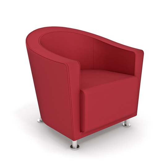 Shop Steelcase Turnstone Jenny Round Lounge Chairs TS
