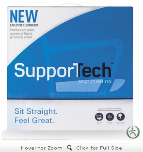SupporTech Cushion Chair Pad