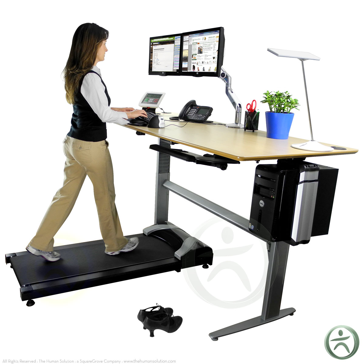 Treadmill For Desk At Work: The Tread - Treadmill By TreadDesk