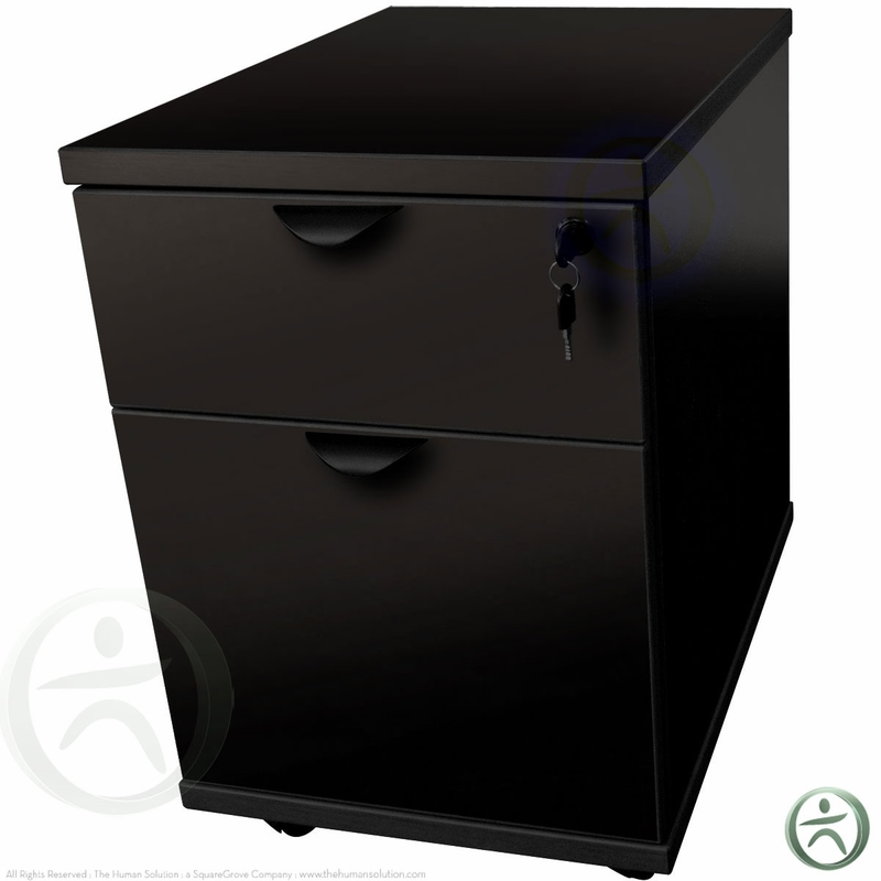 Two Drawer Mobile Pedestal Shop Mobile Pedestals
