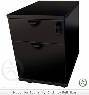 Two-Drawer Mobile Pedestal