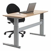 Conset 501-27 Laminate Electric Sit-Stand Desk