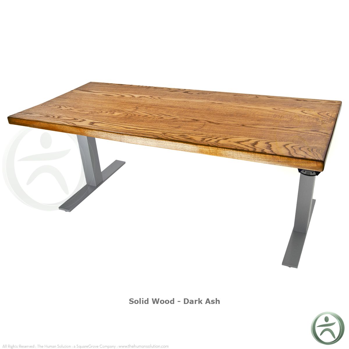 Shop Uplift 800 Solid Wood Electric 23 49 Quot Sit Stand Desk