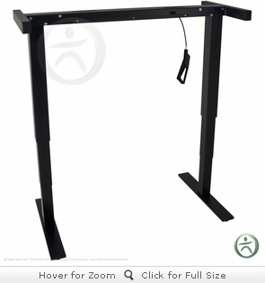 UPLIFT 830 Counterbalanced Pneumatic Standing Desk Base