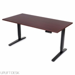 UPLIFT 900 C-Frame Desk with Aluminum Feet