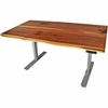 UPLIFT 900 Cedar Solid Wood Sit-Stand Ergonomic Desk