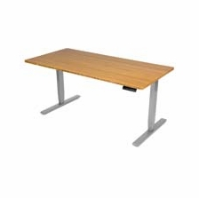 UPLIFT 900 Desk with Scratch and Dent Bamboo Top
