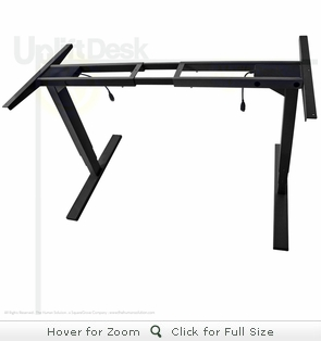 UpLift 900 Height-Adjustable Standing Desk Base (Black)