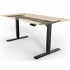 UPLIFT 900 Height-Adjustable Standing Desk (Black)