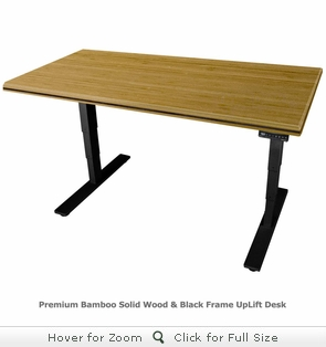 UPLIFT 900 Sit-Stand Ergonomic Desk with Premium 1.5