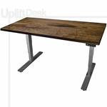 UpLift 900 Solid Wood Height-Adjustable Standing Desk - Next Day Ship