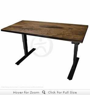 UpLift 900 Solid Wood Desk - Next Day Ship