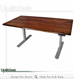 UpLift 900 Solid Wood Height-Adjustable Standing Desk - Design Your Own