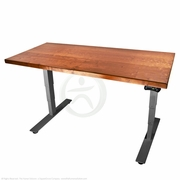 UpLift 900 Solid Wood Sit-Stand Desk - Design Your Own