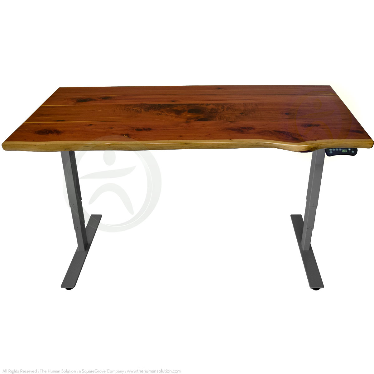 Shop Uplift 920 Solid Wood Sit Stand No Crossbar Desks