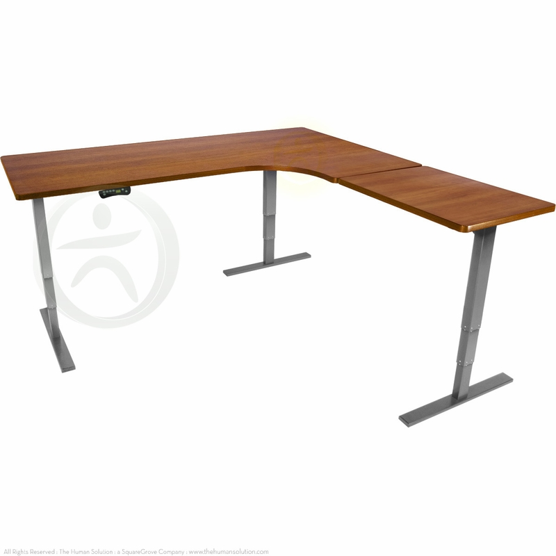 Shop Uplift 950 Height Adjustable L Shaped Standing Desks